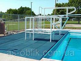 Гумове покриття навколо басейнів 12 мм