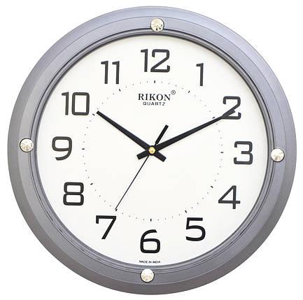 Часы настенные Rikon 407 Gray, фото 2