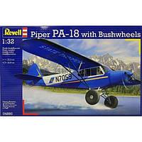 Сборная модель Revell Лёгкий двухместный самолет Piper PA-18 1:32 (4890)