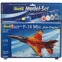 Сборная модель Revell Самолет F-16 Mlu Solo Display 1:72 (63980)