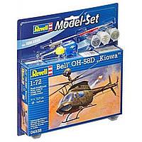 Сборная модель Revell Многоцелевой вертолёт Bell OH-58D Kiowa 1:72 (64938)