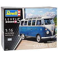 Сборная модель Revell Автобус Volkswagen T1 Samba Bus 1:16 (7009)