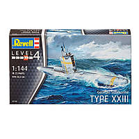 Сборная модель Revell Подводная лодка German Submarine Type XXIII 1:144 (5140)