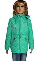 Стеганная демисезонная детская куртка