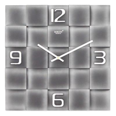 Часы настенные Rikon 10051 Silver Black