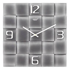 Годинники настінні Rikon 10051 Silver Black