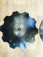 Диск бороны БГР (ромашка - 8 лепестков) (D=710 мм, s=7 мм, квадрат 41х41) , 65 сталь