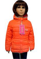 Модная яркая куртка на девочку