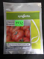 Семена томата Гравитет F1 (Syngenta) 500 семян — ранний (63-68 дней), красный, полудетерминантный, круглый