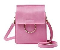 Женская Сумочка Розовая, Casual