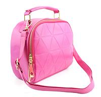 Женская Сумочка Ярко-Розовая, Классическая