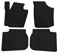 Резиновые коврики для Skoda Rapid 2012- (STINGRAY)