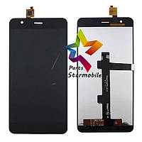 Дисплей для мобильного телефона Jiayu S3, черный с тачскрином