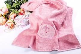 Махровое полотенце Бамбук Лилия