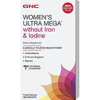 GNC Women's Ultra Mega without Iron & Iodine 180 caplets