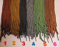 Шнурки круглые 100см Timberlend