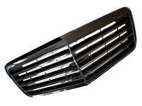 Решетка радиатора тюнинг Mercedes W211 рестайл