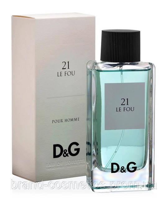 Мужская туалетная вода D&G Anthology Le Fou 21 100 мл