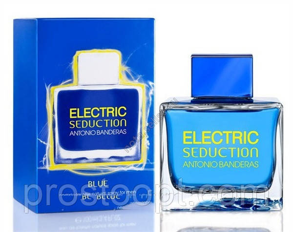 Мужская туалетная вода Antonio Banderas Electric Seduction Blue