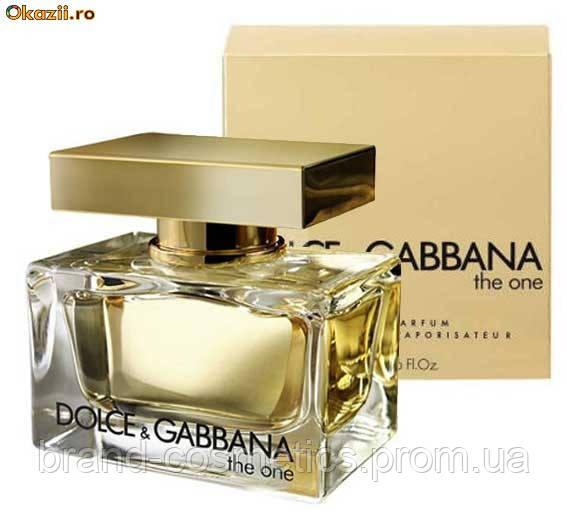 Женская парфюмированная вода Dolce&Gabbana The One Women 75 мл