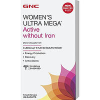 GNC Women's Ultra Mega Active without Iron 180 caplets
