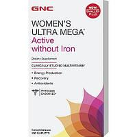 GNC Women's Ultra Mega Active without Iron 180 caplets
