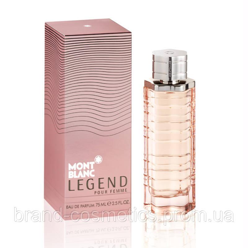 Жіноча парфумована вода Legend Pour Femme від Mont Blanc 75 мл