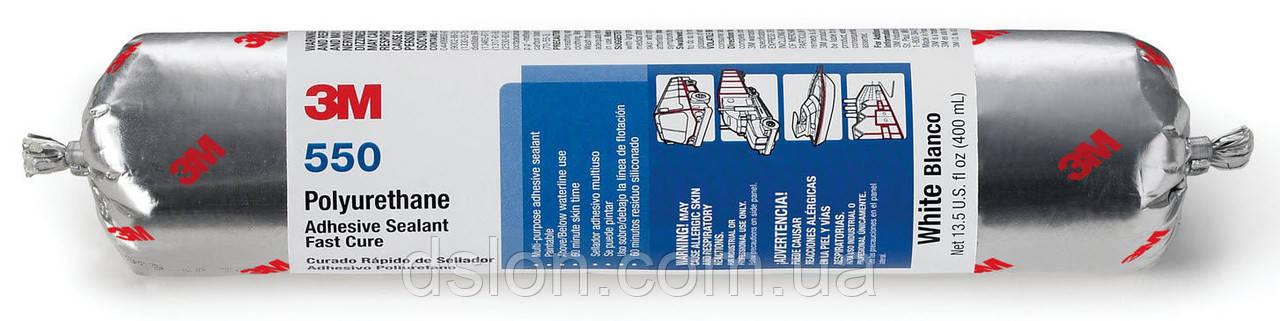 Клей герметик 3M 550, 600 мл (белый)