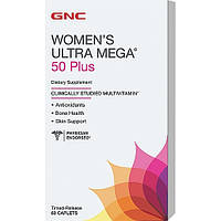 GNC Women's Ultra Mega 50 Plus 60 caplets