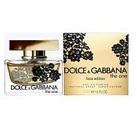 Женская парфюмированная вода Dolce&Gabbana The One Lace Edition (Дольче и Габбана Зе Ван Лэйс Эдишен) 75 мл
