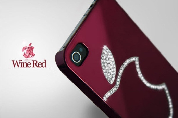 Чехлы для iPhone 4 4S DreamPlus Swarovski
