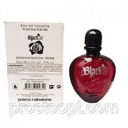 Paco Rabanne Black XS For Her edt 80 мл TESTER женский