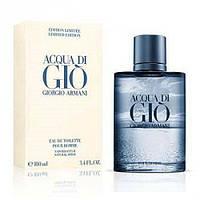 Мужская туалетная вода Giorgio Armani Acqua Di Gio Blue Edition (Армани Аква Ди Джио Ин Блу)