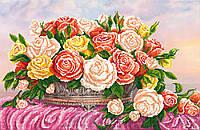 """Схема для вышивки бисером """"Розы"""", А2"""