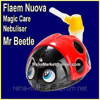 Ингалятор Компрессорный небулайзер для детей Божья Коровка Flaem Nuova