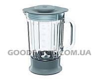 Стеклянная чаша блендера для кухонного комбайна Kenwood 1200ml KW715833 (аксессуар)