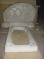 Надгробие из мрамора