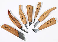 Набор ножей для геометрической резьбы, 7шт.