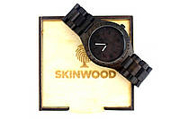 Эксклюзивные деревянные наручные часы Black Uwood, фото 1