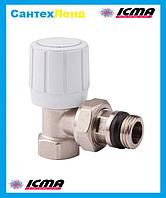 Кран радиаторный верхний угловой 3/4 ICMA 951