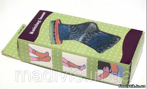 приспособление для вязания носков и митенок Knitting Loom в