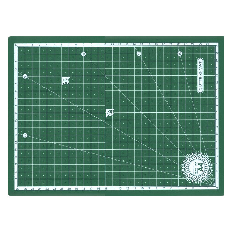 Коврик для резки самовосстанавливающийся, 3 мм, 30х22 см, А4, Morn Sun