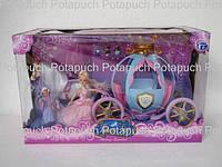 Кукла Золушка в карете М205 А