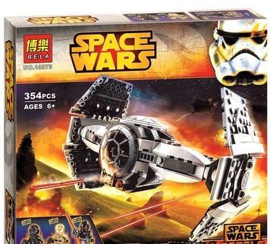 Конструктор  Star Wars Улучшенный Прототип TIE Истребителя 10373