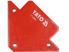 YATO Магнітна струбцина для зварки  82х120х13 мм