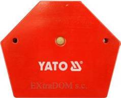 YATO Магнітна струбцина для зварки  111х136х24мм, 34кг