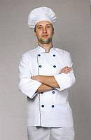 Белый мужской костюм повара