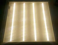 Светодиодная LED панель НАКЛАДНАЯ И ВСТРАИВАЕМАЯ СВО-60х60см PRISMATIC 36Вт 4000К 2800lm