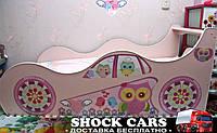 Оригинальная кровать машина СОВУШКИ для девочки - только для Вас http://кровать-машина.com.ua/, нарисована с любовью!