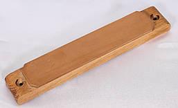 Брусок для правки лезвий с односторонним кожаным слоем 270*70